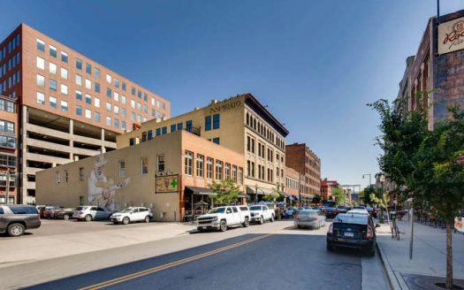 Photo of downtown Denver Colorado